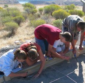 National Park Service 'Mock' Excavation